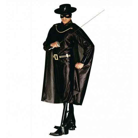 Carnavalskostuum Zorro kostuum voor volwassenen