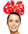 Haarstrik Minnie Mouse met lichtjes